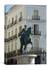 Puerta del Sol II, Canvas Print