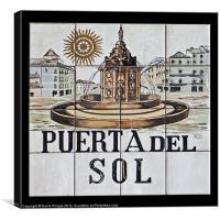 Puerta del Sol, Canvas Print