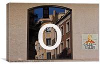 Madrid Reflections, Canvas Print