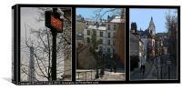 Parisian Street Scenes, Canvas Print