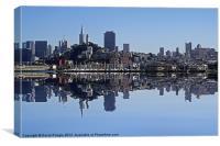 San Francisco Skyline, Canvas Print