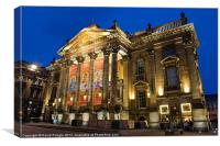 Theatre Royal, Canvas Print