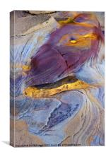 Pools of Gold II, Canvas Print