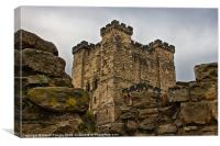 Castle Keep, Canvas Print