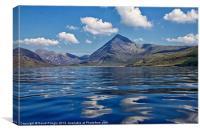 Loch Scavaig, Canvas Print