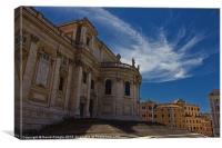 Basilica di Santa Maria Maggiore, Canvas Print