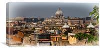 St Peters Basilica, Canvas Print