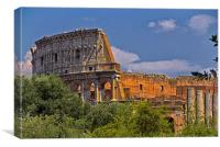 Colosseum, Canvas Print