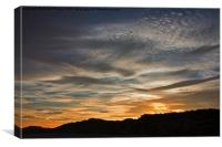 Late Afternoon Sky, Canvas Print