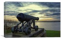 Cannon, Canvas Print