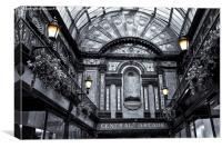 Newcastles Central Arcade, Canvas Print