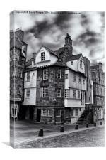John Knox House, Canvas Print