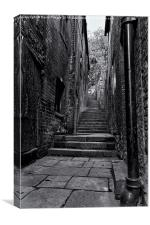 Long Stairs, Canvas Print