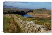 Crag Lough, Canvas Print
