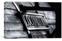 Locomotion, Canvas Print