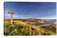 Alnmouth, Canvas Print