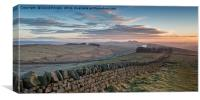 Roman Wall Country, Canvas Print