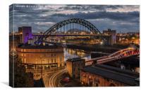 Tyne Bridge, Canvas Print