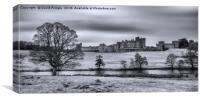 Alnwick Castle, Canvas Print
