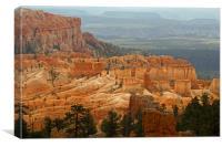 Hoodoos at Bryce Canyon, Canvas Print