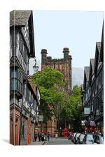 Chester Cathedral, Canvas Print