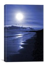 Druridge Bay, Canvas Print