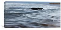 North Sea Waves, Canvas Print