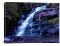 Somersby Falls, Canvas Print
