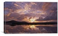 Pinkest reflections, Canvas Print