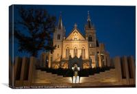 A night at St Mary's, Canvas Print