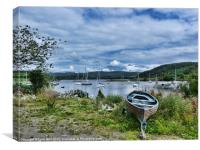 Tayvallich Harbour, Canvas Print