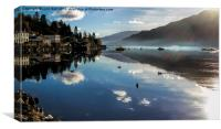 Reflections of Lochgoilhead, Canvas Print