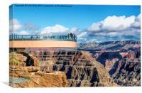 Grand Canyon Skywalk, Canvas Print