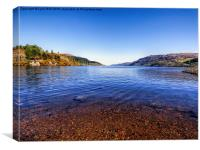 The Banks of Loch Ness, Canvas Print