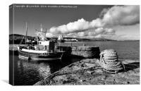 Fishing Boat Lerwick Shetland, Canvas Print