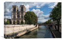 Notre Dame Cathedral Paris, Canvas Print