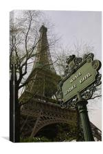 Gustave Eiffel, Canvas Print