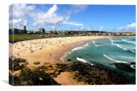 Bondi Beach, Canvas Print