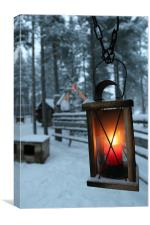 Lantern, Canvas Print