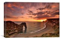 Durdle Dor Sunset