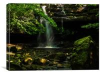 Gibsons Cave, Canvas Print