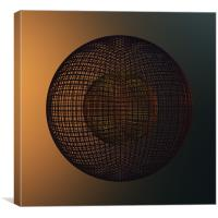 The Grid, Canvas Print