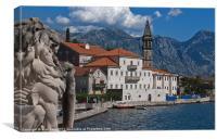 Perast, Montenegro, Canvas Print