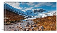 Coire Etchachan, cairngorms national park, Canvas Print