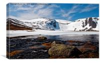 Loch Etchachan Cairngorms, Canvas Print