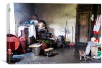 Visions of China, Canvas Print