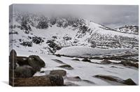Lochnagar in the spring, Canvas Print