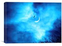 Solar Eclipse 2015, Canvas Print