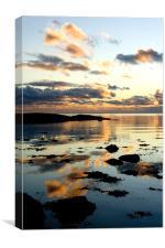 Mirrored Sky, Canvas Print