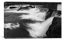 The Morning Falls, Canvas Print